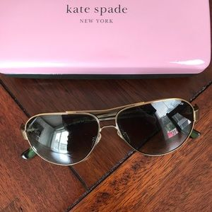 Tory Burch Aviator Sunglasses (with Case)